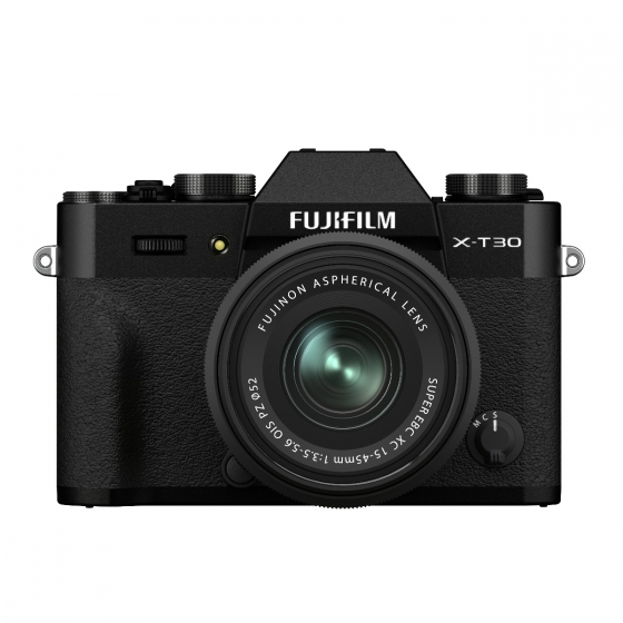 Fujifilm X-T30 II with XC 15-45mm Lens Kit - Black