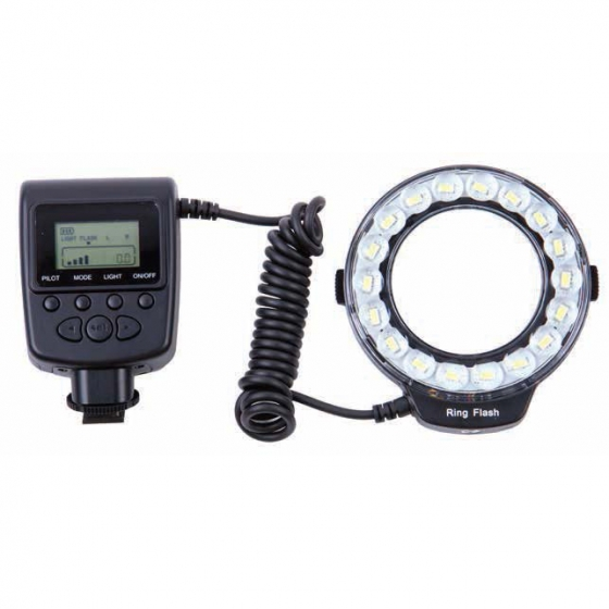 ProMaster RL100 LED macro ring light  Flash and Constant