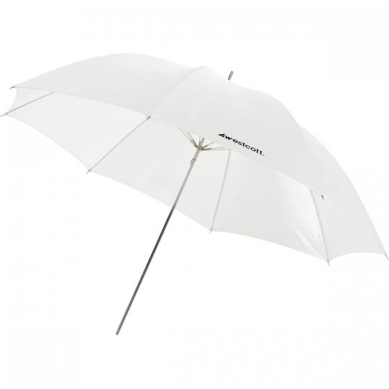 "WESTCOTT 45"" Optical White Satin Umbrella"