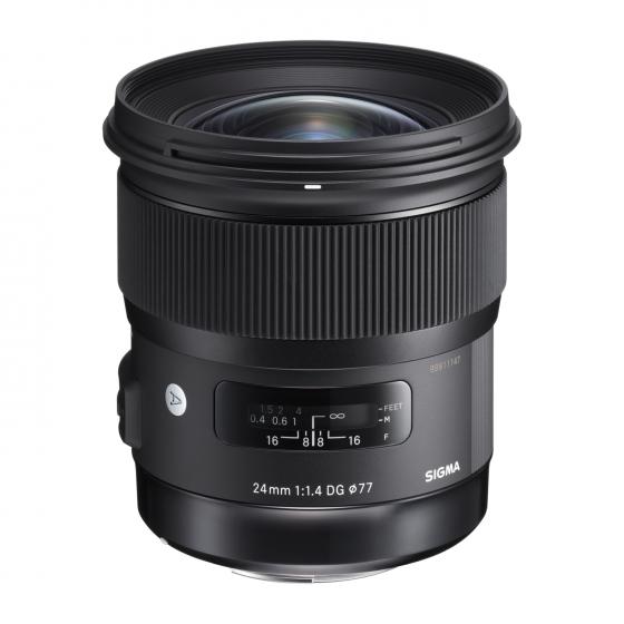 SIGMA 24mm f1.4 EX DG HSM Art Lens for Canon                    global