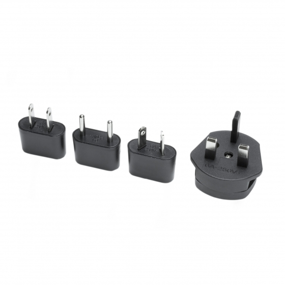ProMaster Travel charger A/C adapter plug set