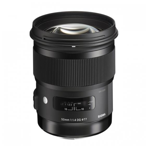 SIGMA 50mm f1.4 DG HSM Art Lens Black for Canon        Global