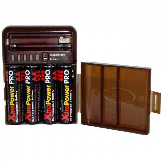 ProMaster XtraPower Battery Storage Case & Tester