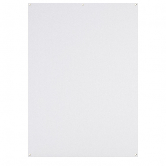 WESTCOTT X-Drop Wrinkle-Resistant Backdrop - High-Key White 5'x7'