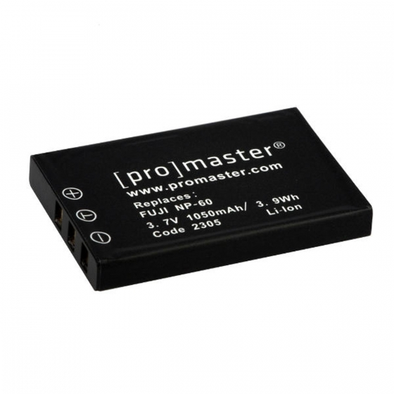 ProMaster NP60 battery       Fuji or Pentax DL12