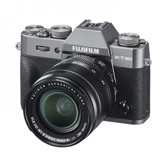 FUJI X-T30 w/ 18-55mm f/2.8-4 OIS Kit (Charcoal)