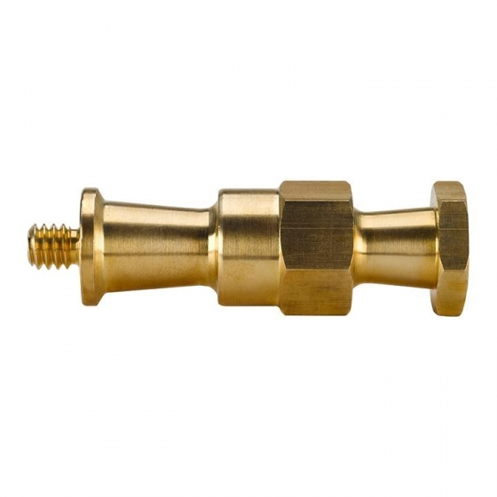 KUPO Hex stud 1/4-20 brass for double convi clamp     KG002612