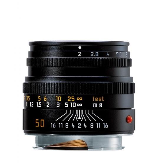 LEICA 50MM F/2.0 M Black (E39)