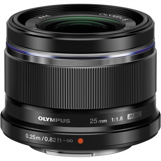 OLYMPUS 25mm f1.8 Lens Black for micro 4/3