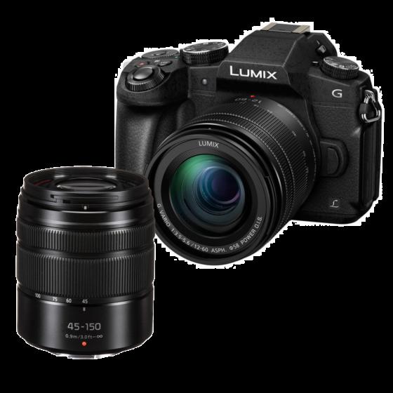 PANASONIC DMC G85 12-60mm Kit w/ 45-145mm Lens