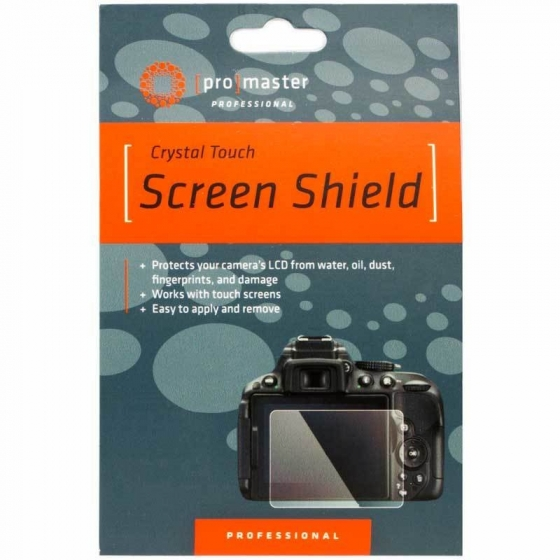 ProMaster Crystal Touch Screen Shield                     Fuji XH1