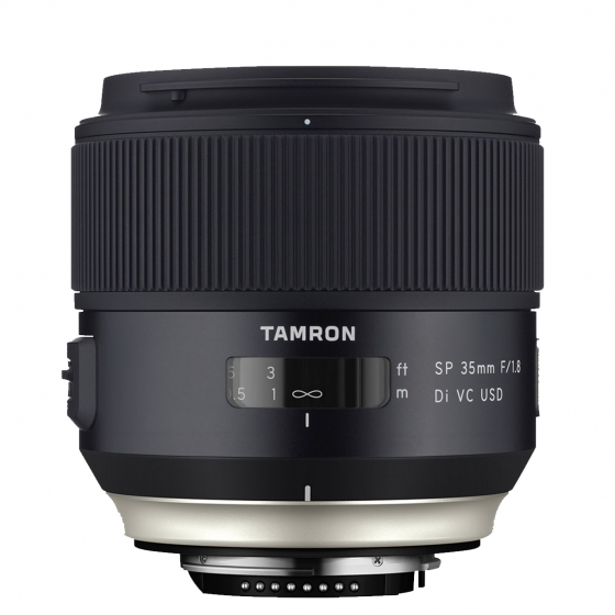 TAMRON 35mm f/1.8 Di VC USD Lens for Canon  Vibration Reduction