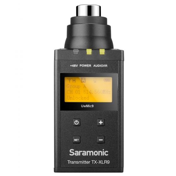 SARAMONIC UwMic9 TX-XLR9 Plug-on Transmitter for XLR Mics