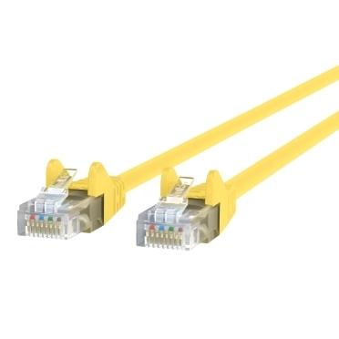 BELKIN 2' Cat6 Yellow Ethernet Cbl Snagless