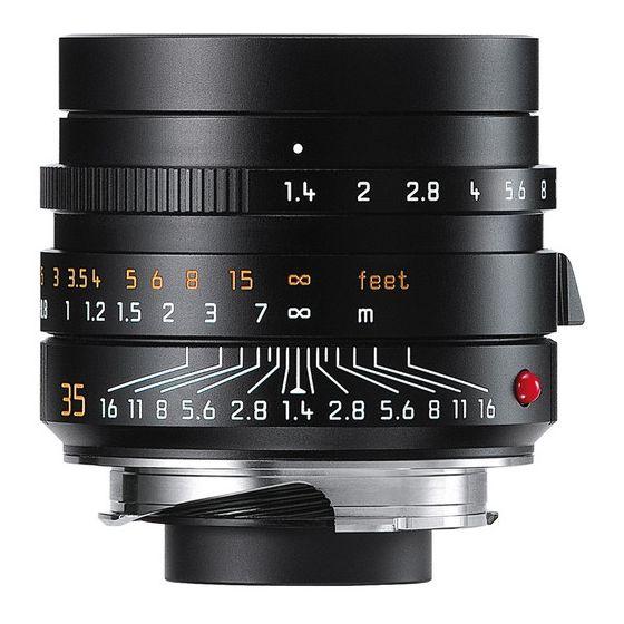 LEICA 35mm f1.4 ASPH M lens black