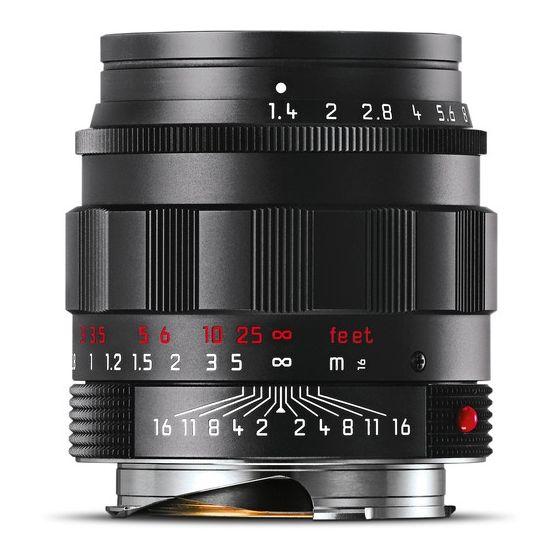 LEICA 50mm f1.4 ASPH   Limited Ed. M lens black chrome finish
