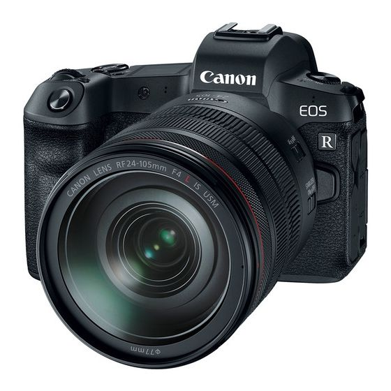 CANON EOS R Mirrorless Digital Camera w/ 24-105mm f/4 Lens