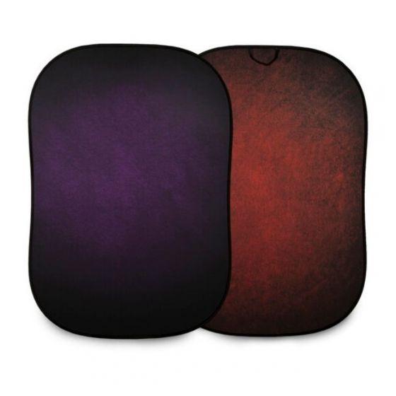 LASTOLITE 1.5 x 2.1m Aubergine / Crimson Vintage Collapsible