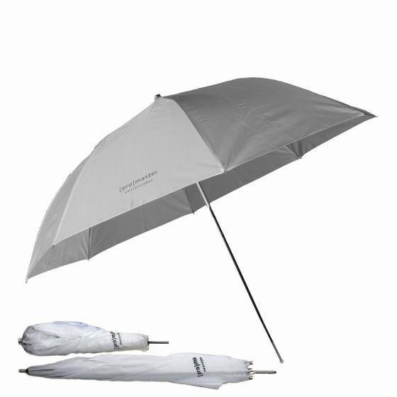 """ProMaster 45"""" Professional Compact Umbrella  white"""