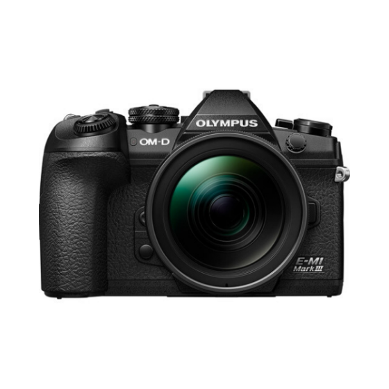 OLYMPUS OM-D E-M1 III with 12-40mm f/2.8 PRO Lens (Black)