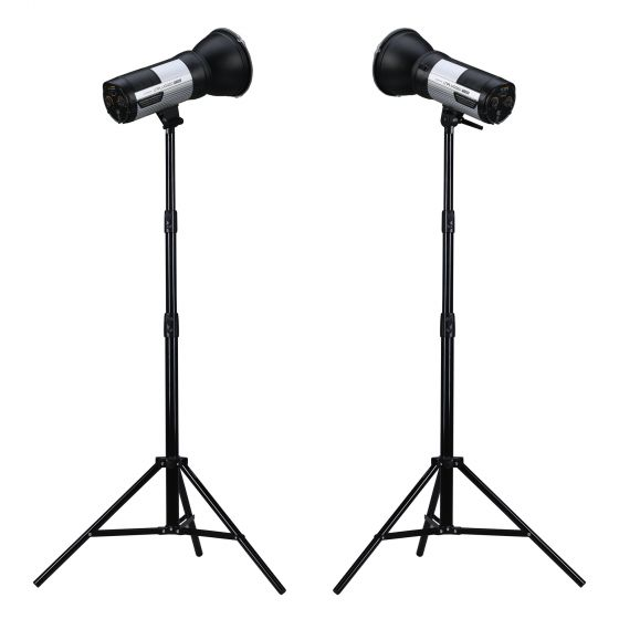 PROMASTER Unplugged M400 Strobe Monolight 2 Light Kit