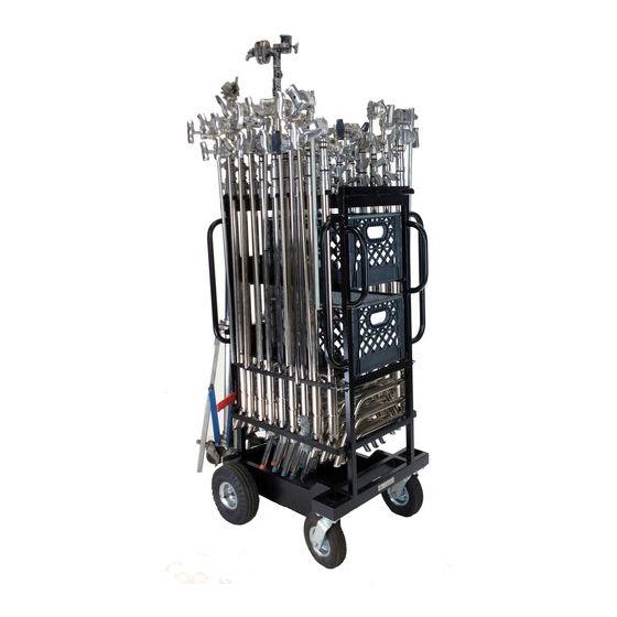 BACKSTAGE C-Stand/Hi-Roller Utility Cart Plus