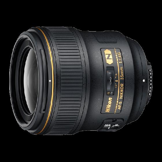 NIKON 35mm f1.4 G AFS Lens