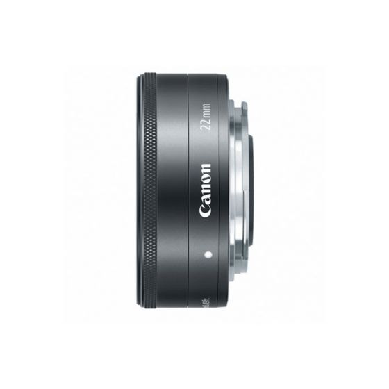 CANON 22mm f2 STM Lens EF-M                         Silver