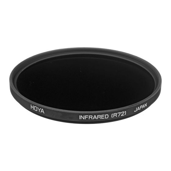 HOYA R72 Infrared Filter 62mm #CLEARANCE