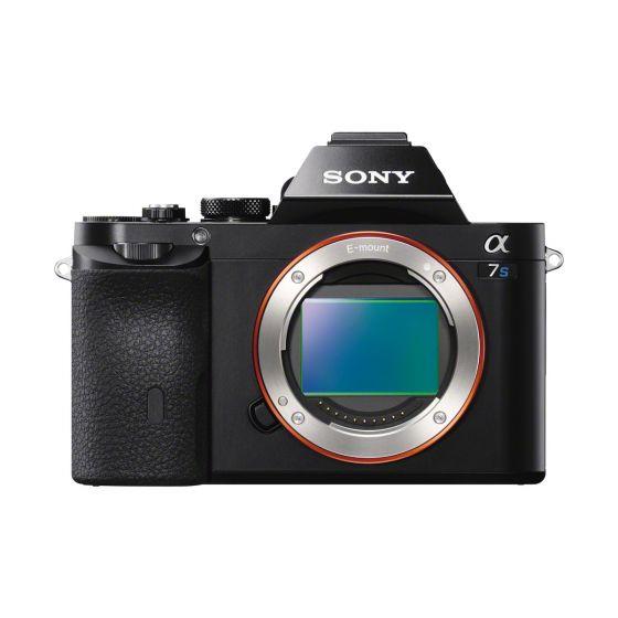 SONY A7S Camera body black 12.2mp Full Frame  4K Video  Black