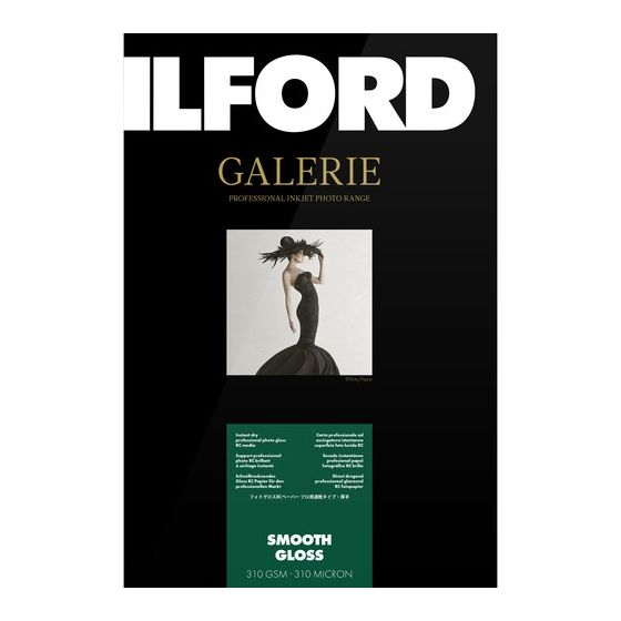 "ILFORD Gallerie Smooth High Gloss 13""X19"" 25 sheets   #CLEARANCE"