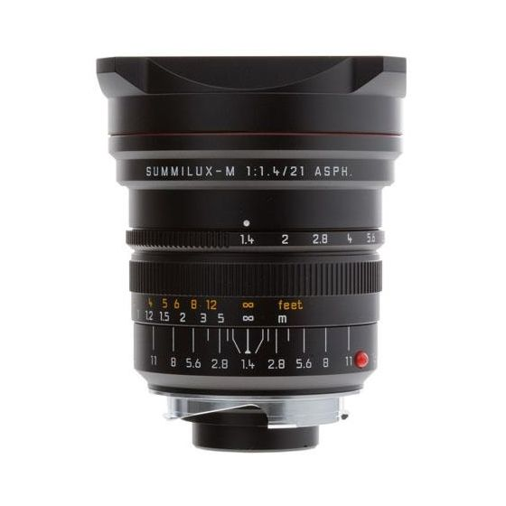 Summilux-M 21mm / f1.4 ASPH black anodized finish (S8)