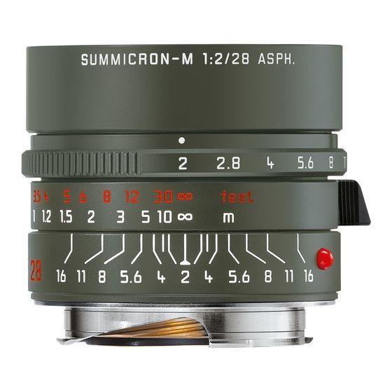 LEICA Summicron-M 28mm f/2 ASPH Safari Edition