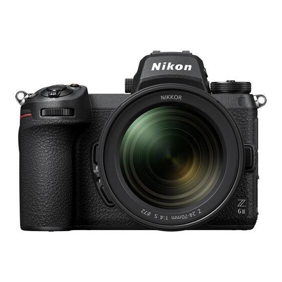 NIKON Z6 II Mirrorless Digital Camera with 24-70mm f/4 S Lens