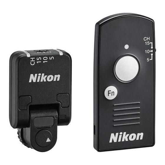 NIKON WR-R11a / WR-T10 Remote Controller Set