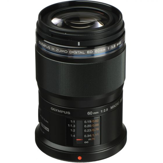 OLYMPUS 60mm f2.8 Macro Lens Black                     micro 4/3