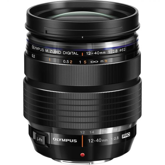OLYMPUS ED 12-40mm f2.8 Pro Lens Black                     micro 4/3