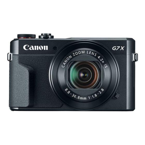 "CANON PowerShot G7 X Mark II Camera 20meg 1"" sensor f1.8-2.8  Digic 6"