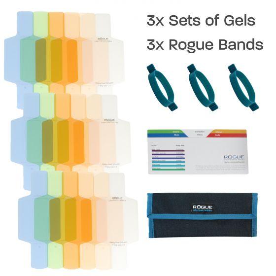 ROGUE Gels: Flash Gels for Color Correction