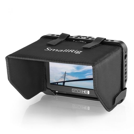 """SMALLRIG Monitor Cage with Sunhood for SmallHD Focus Series 5""""Monitor"""