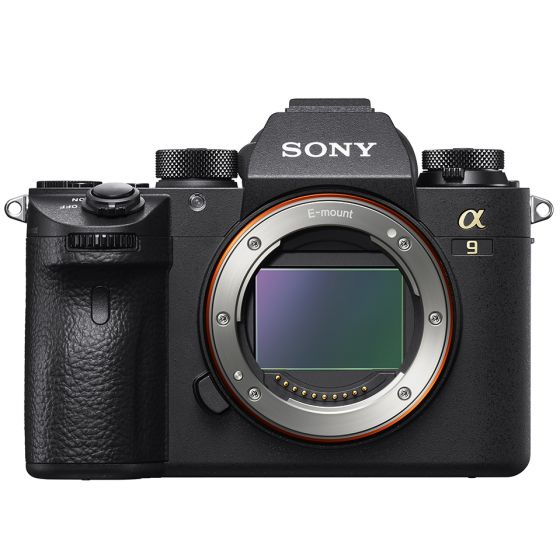 SONY A9 Camera Body Black   E-Mount 24mp Full Frame Stacked Sensor