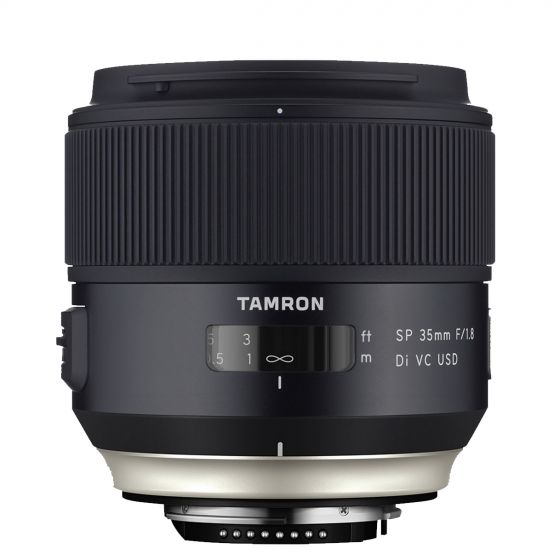 TAMRON 35mm f/1.8 Di VC USD Lens for Canon  Vibration Reduction
