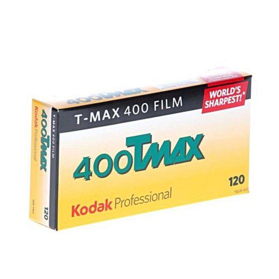 KODAK TMY T Max 400asa B&W 120/5 Pro Pack
