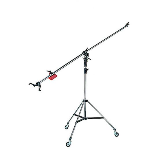 MANFROTTO 025BS Super Boom Black with 008BU stand