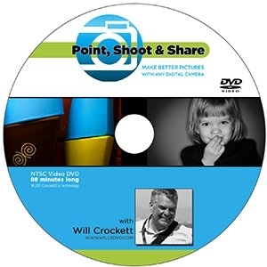 Point Shoot and Share DVD by Will Crocket