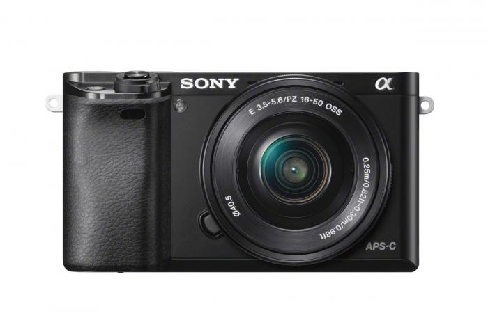 SONY A6000 16-50mm PZ OSS Camera Kit Black