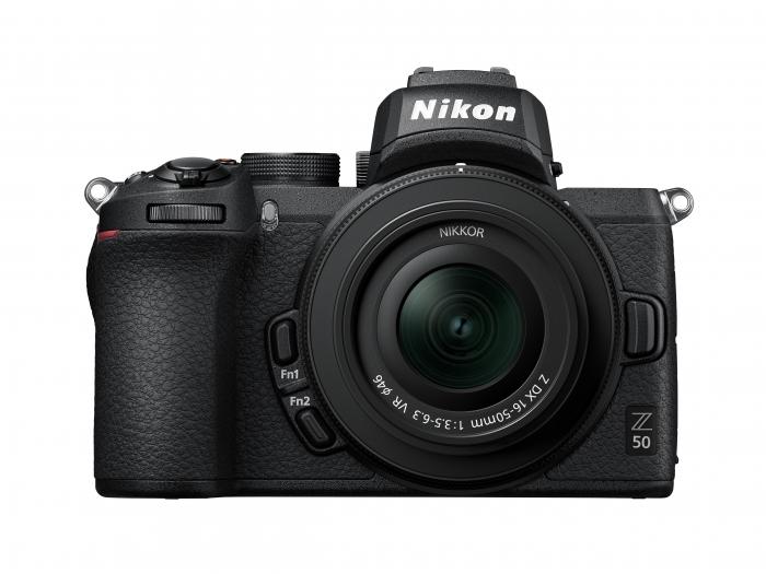 NIKON Z50 Mirrorless Camera Kit w/ 16-50mm + 50-250mm VR Lenses