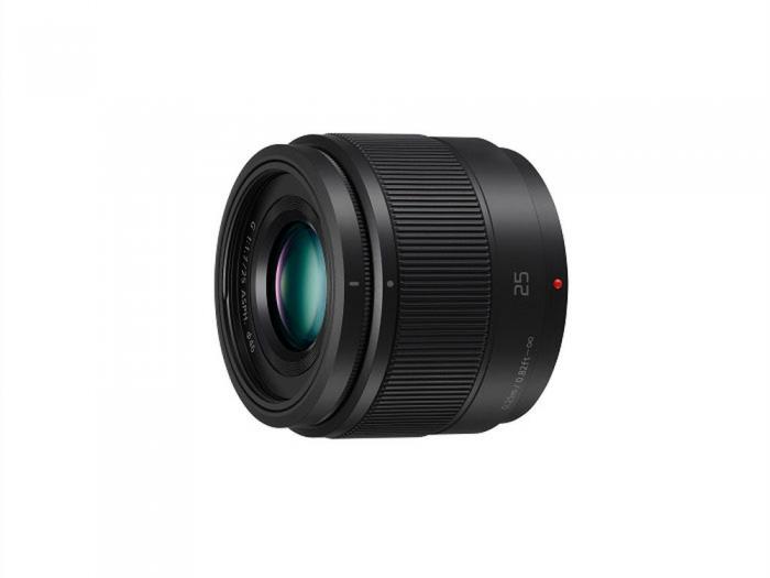 PANASONIC 25mm f1.7 Aspherical Lens Lumix G  H-H025K          micro 4/3