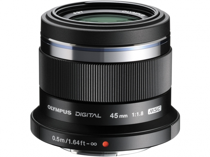 OLYMPUS 45mm f1.8 Lens Black for micro 4/3
