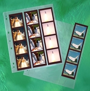 CLEARFILE Neg. Pages 100 pack 12 6x6   3 strips vertically